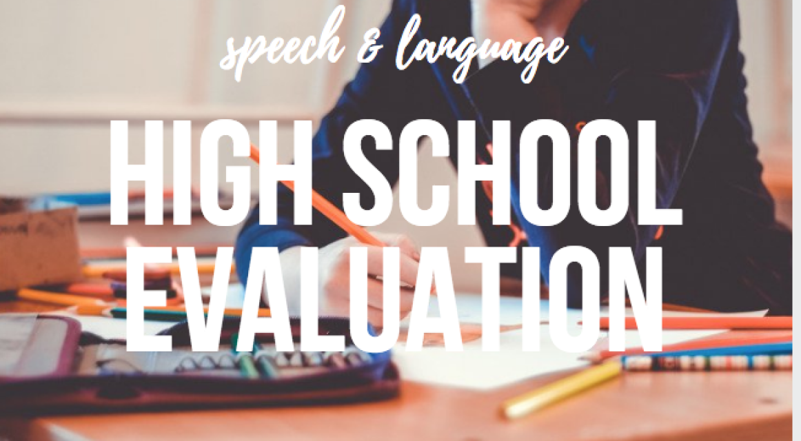 Speech and Language Evaluations and Assessments - Amy Speech